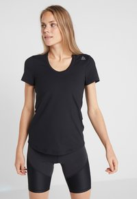 Reebok - TEE - T-Shirt basic - black - 0