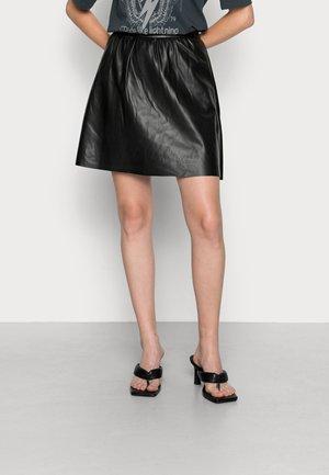 VIPEN SKATER SKIRT - A-line skirt - black