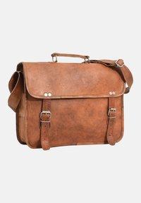 Gusti Leder - Briefcase - brown - 3