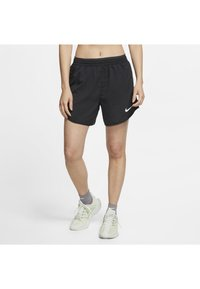 Nike Performance - TEMPO LUX   - Sports shorts - black/anthracite/reflective silv - 0