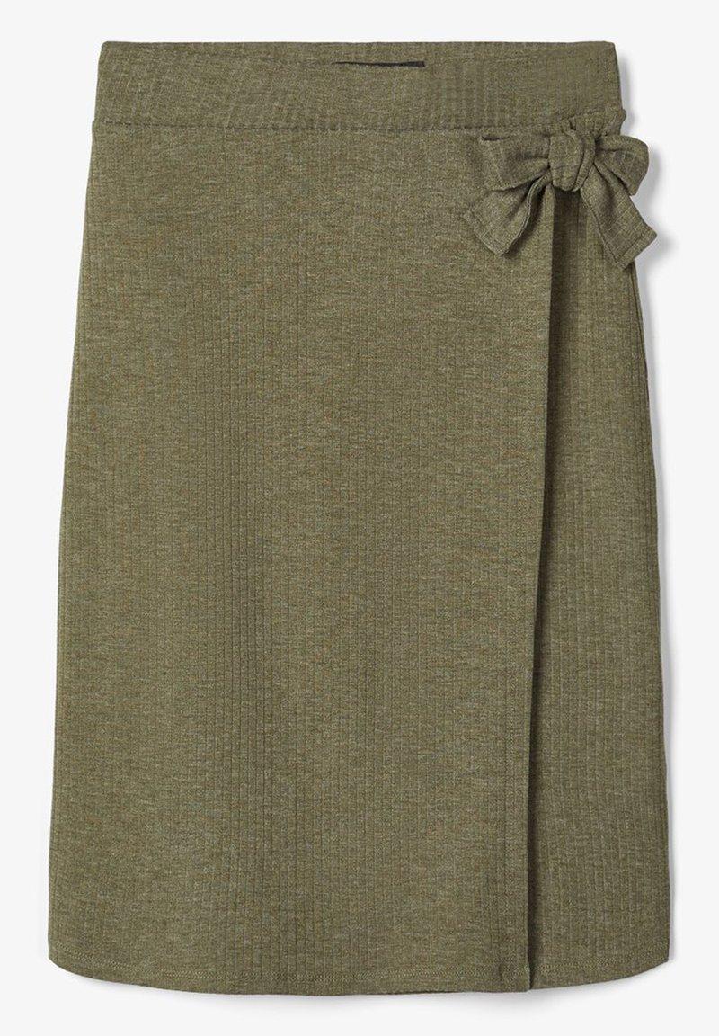 LMTD - WICKEL - Wrap skirt - ivy green