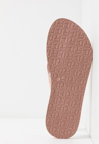 Tommy Hilfiger - MYRA  - T-bar sandals - rose gold - 6