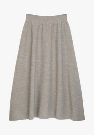 MEDEA - A-line skirt - brown