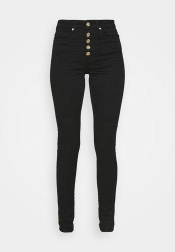 ONLROYAL FLY GUA - Jeans Skinny Fit - black