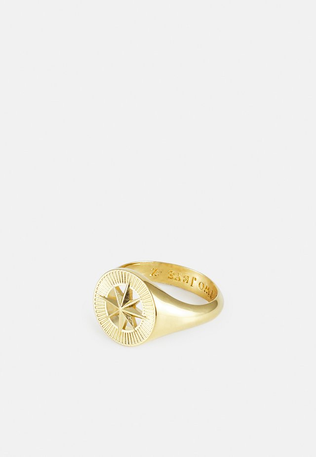 COMPASS RING UNISEX - Ring - gold-coloured