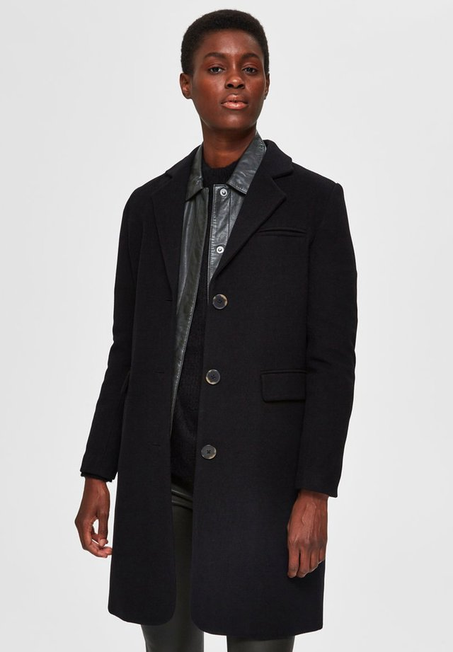 SLFELINA - Krótki płaszcz - black