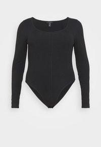 New Look Curves - SEAMED - Long sleeved top - black - 3