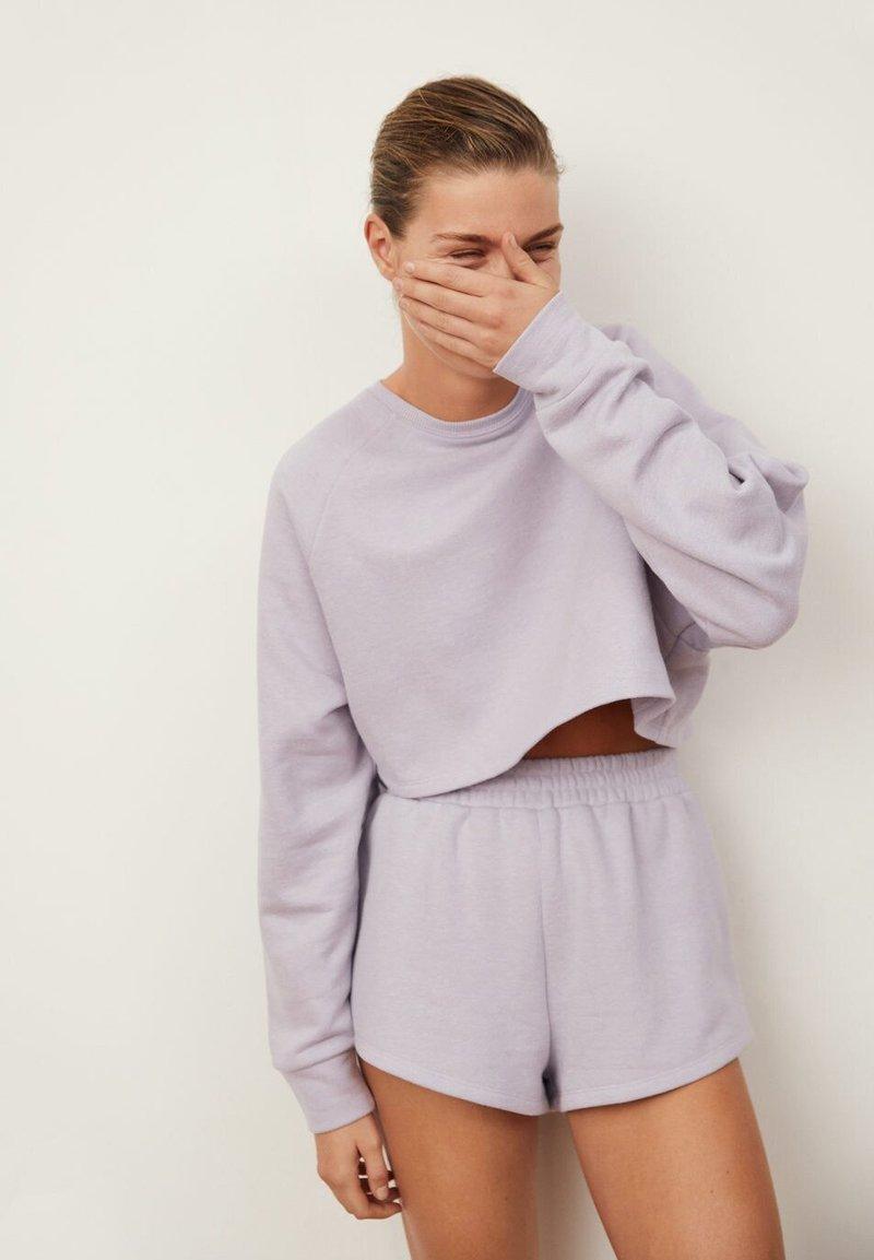 Mango - HYGGE55 - Sweatshirt - light/pastel purple