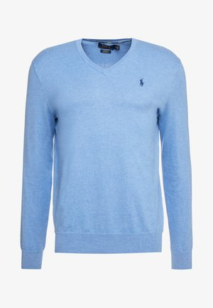 Pullover - soft royal heather