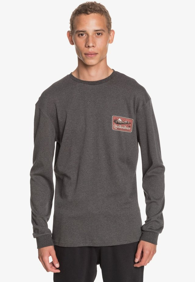OLD HABIT  - Long sleeved top - charcoal heather