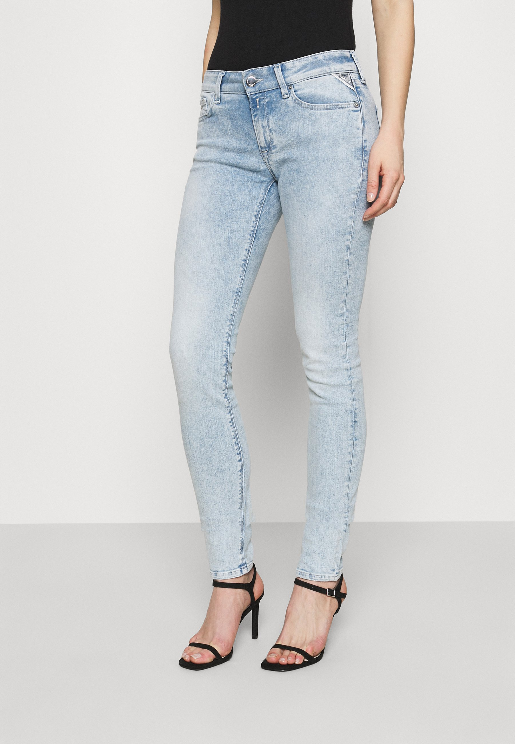 Women ROSE COLLECTION NEW LUZ PANTS - Jeans Skinny Fit
