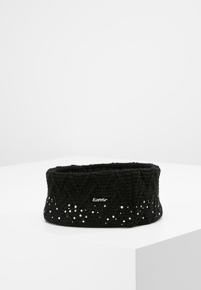 ISABELLA CRYSTAL  - Ear warmers - black