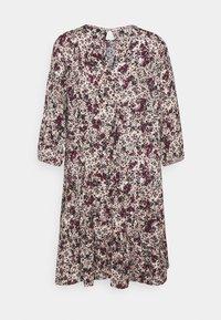 Vero Moda Petite - VMLIVIANA 3/4 ONECK DRESS - Kjole - fawn/liviana - 1