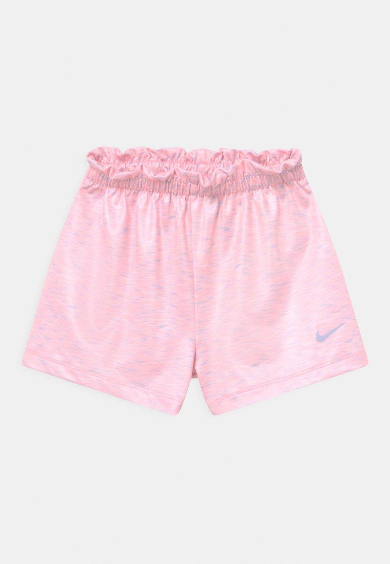 Nike Sportswear - SPACE DYE PAPERBAG  - Kraťasy - arctic punch