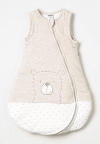 Jacky Baby - MIT ABNEHMBAREN ÄRMELN HELLO WORLD - Baby's sleeping bag - beige melange - 2