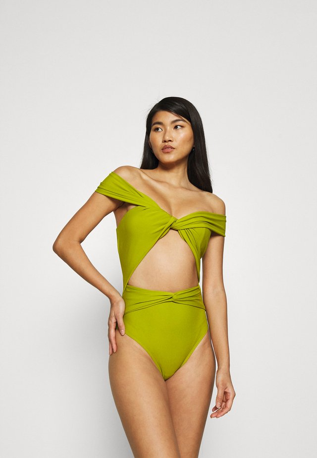 AMINA SWIMSUIT - Badedragter - olive