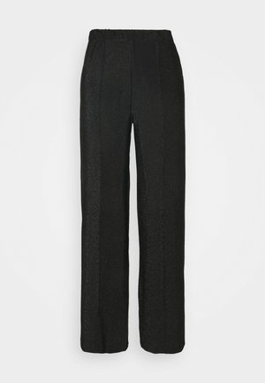 PCRINA MW WIDE PANT - Trousers - black