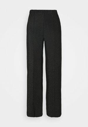 PCRINA MW WIDE PANT - Pantaloni - black