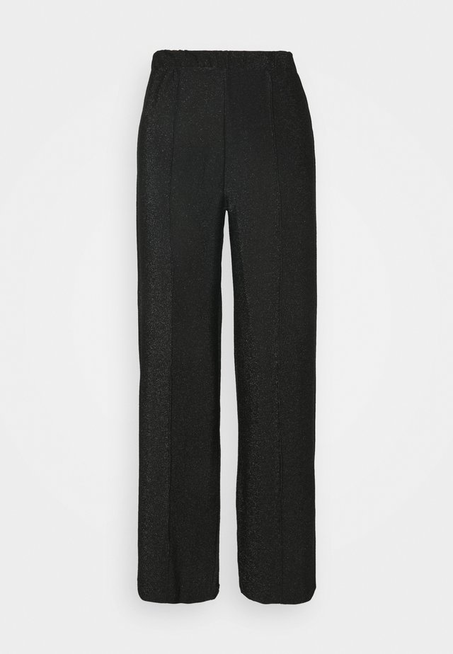 PCRINA MW WIDE PANT - Broek - black