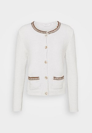 CARDIGAN DETAIL - Strikjakke /Cardigans - off white
