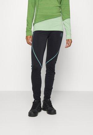 INSTANT PANT - Leggings - black/aquarelle