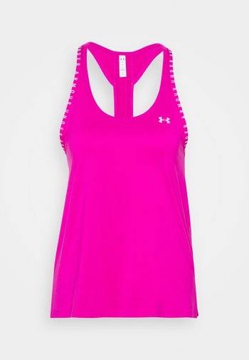 KNOCKOUT TANK - Sports shirt - meteor pink