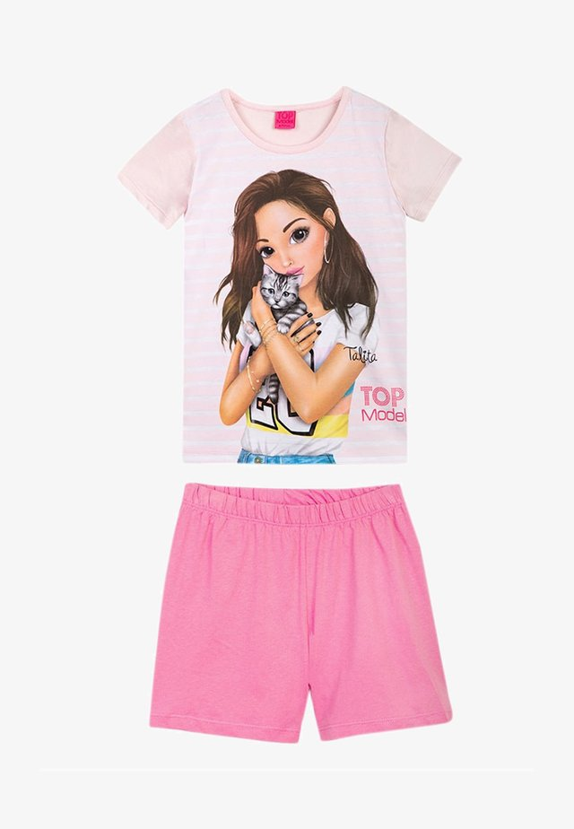 Pyjama set - barely pink