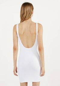 Bershka - Shift dress - white - 2
