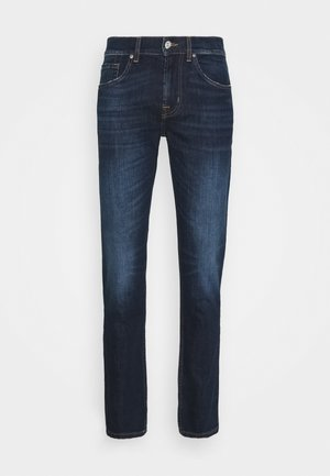 SLIMMY TAPERED CRASH  - Jeans Tapered Fit - dark blue