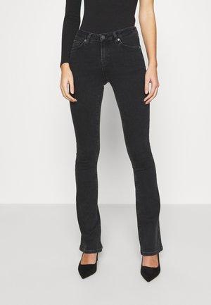 SLFSERENA - Bootcut jeans - black denim