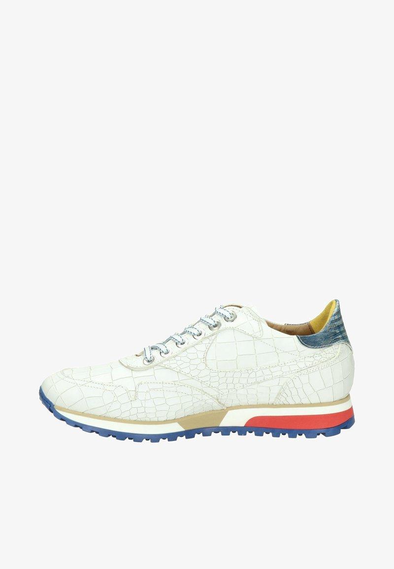 Lorenzi - Sneakers laag - wit