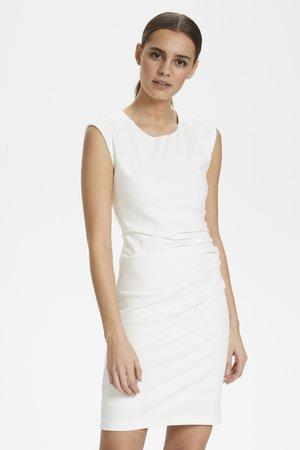 Shift dress - off-white