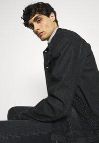 INDICODE JEANS - GLENALVON - Denim jacket - black - 3