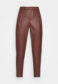 DAY Birger et Mikkelsen - GROW - Leather trousers - cocco - 4
