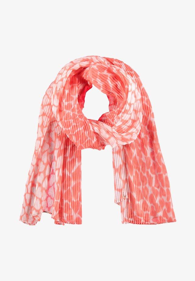 Sjaal - fusion coral gemustert