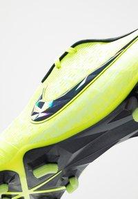 Nike Performance - PHANTOM ELITE FG - Moulded stud football boots - volt/obsidian/barely volt - 5