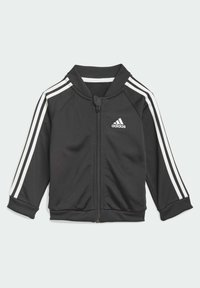 adidas Performance - 3 STRIPES TRICOT TRACKSUIT - Trainingspak - black - 1