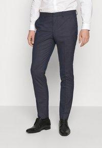 Selected Homme - SLHSLIM MAZELOGAN - Suit - medium blue melange - 4