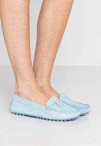 Trussardi Jeans - EXCLUSIVE  - Mokkasiner - sky - 0