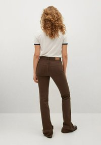 Mango - Straight leg jeans - brown - 2