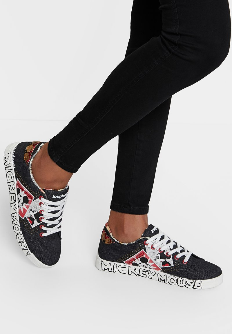 Desigual - MICKEY - Sneakersy niskie - black