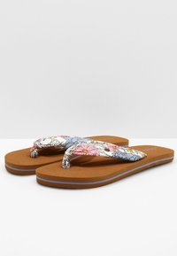 O'Neill - DITSY SUN - T-bar sandals - white all over print - 3
