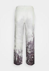 Jaded London - MOUNTAIN SCENE SKATE  - Jeans baggy - grey - 1