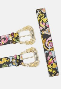 Versace Jeans Couture - LARGE DOUBLE BAROQUE BUCKLE - Pasek - multi-coloured - 3
