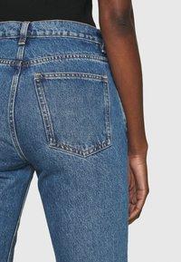 ARKET - Straight leg jeans - mid blue - 4