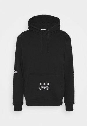 DIFFERENCE HOODY UNISEX - Sweatshirt - black