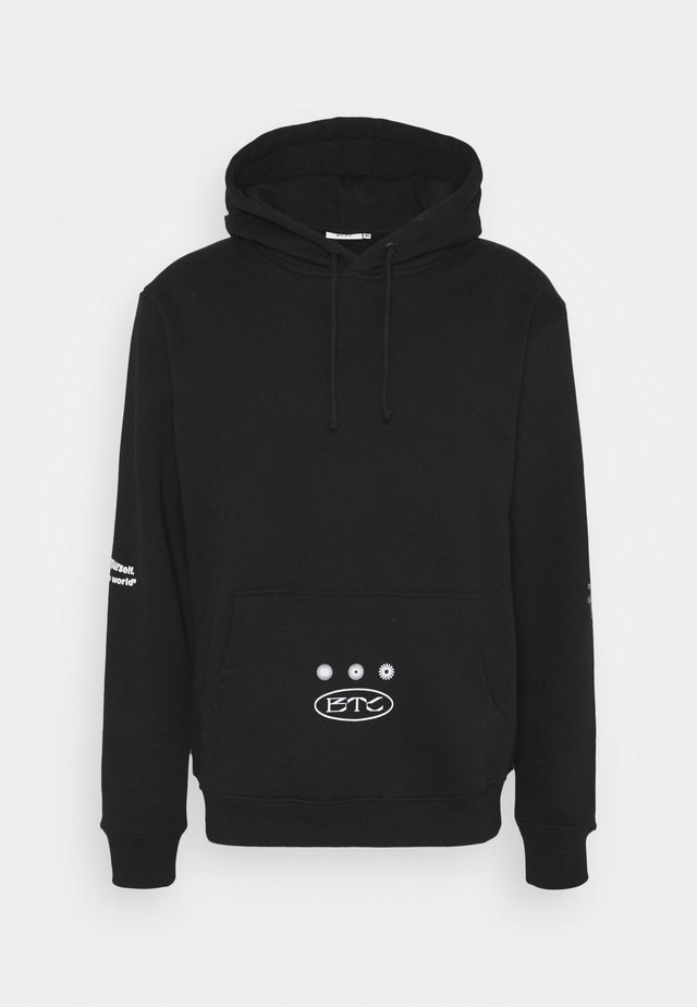 DIFFERENCE HOODY UNISEX - Sweatshirt - black