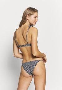 Topshop - GINGHAM RING CROP & PANT SET - Bikini - mono - 2