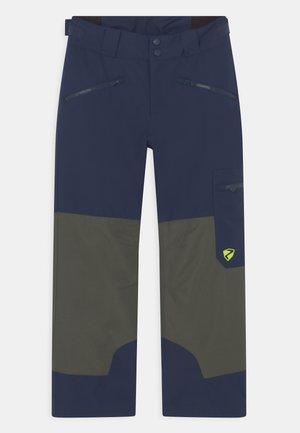 AMIRO UNISEX - Zimní kalhoty - dark navy/pine green