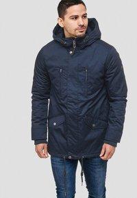 INDICODE JEANS - Winter jacket - dark blue - 0
